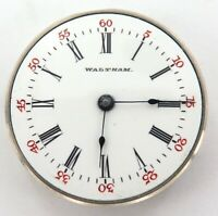 MONTGOMERY DIAL TINY HIGH GRADE / 1900 WALTHAM SPECIAL 6/0S 15J POCKET MOVEMENT.