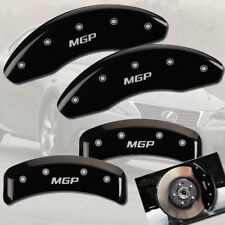 "2006-2008 Lexus IS250 AWD Front + Rear Black ""MGP"" Brake Disc Caliper Covers"