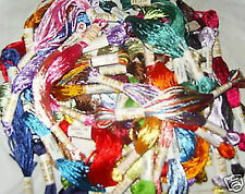 30 x  Silk Embroidery Floss/Threads -  30 Colours Great Value, Top Quality