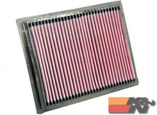 K&N Replacement Air Filter For PEUGEOT 306 L4-1.6L F/I 8V 2000-2001 33-2227