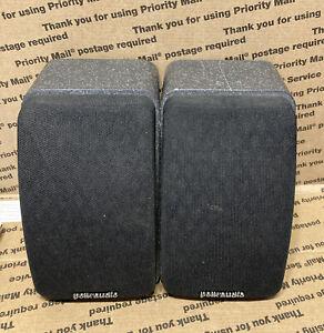 2 POLK AUDIO RM Series II Shielded Satellite RMSS Speakers Tested