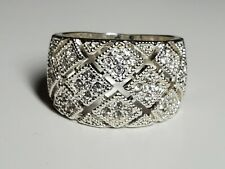 Charter Club Ring Size 7 1/2 Silver Tone New Over Stock Without Tags