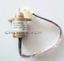 12V SYNCHRO START SWITCH Fuel ShutOff Solenoid 117233-77932 For YANMAR Engine