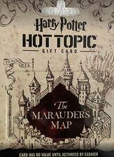 HARRY POTTER HOT TOPIC GIFT CARD NO VALUE NEW #harrypottergiftcards #harrypotter