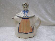 Vintage USA Pottery Granny/Old Woman/Lady/Teapot