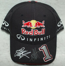Sebastian Vettel Signed Red Bull F1 2014 with the number 1 Cap / Hat