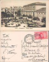 FRANCOFONTE,PIAZZA DANTE,MOLTO ANIMATA/PERFETTA ANNI 30-SICILIA(SR)-FP/VG-45228