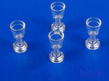 Lego - 4 x vasos/cáliz transparente claro/imbornales/goblet/mercancía nueva 2343