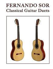 Fernando Sor: Classical Guitar Duets NEW BOOK