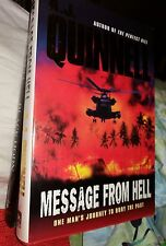 Message From Hell A J Quinnell 1st edition hardback 1857976266