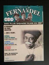 Fascicule DVD La collection Fernandel - n° 1 - 2 - 3