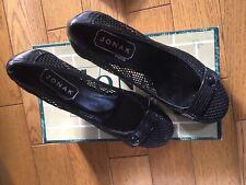 Chaussures escarpins Jonak en cuir ajouré noir portées une fois en défilé