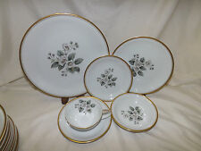 Noritake Apple Blossom #5463 pattern 73 pc Dinnerware Set Service for 12