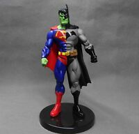 DC ComicS Collectibles Batman Series Arkham BATMAN/SUPERMAN Statue action figure