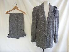 """Ladies Suit - Umberto Ginocchietti, Italian 42, waist 26"""", wool/angora mix 1226"""