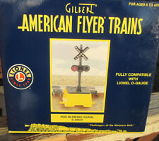 AMERICAN FLYER & LIONEL #582 BLINKING TRACK SIGNAL....MINT IN BOX!