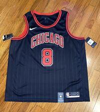 Nike NBA Chicago Bulls Zach Lavine Swingman Jersey Black AT9795-010