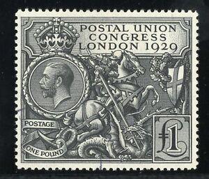Great Britain 1929 Scott 209  SG 438 PUC Pound used VF