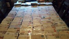 Us stamps 19th century - present advertisement covers 6 all different mostly pre