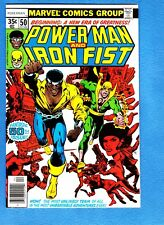 Power Man #50 (Apr 1978, Marvel)NM 9.4, Iron Fist joins Luke Cage