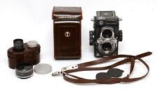 Yashica 44 LM 4x4 Medium Format Camera & Extras! Good Condition!