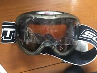 Goggles Ski Snowmobile Snowboard Scott Split Six Turbo Flow Small Face New Tags