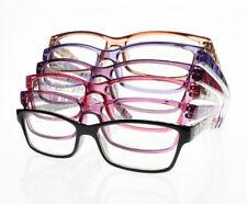 Women's Spring Hinges Myopia Nearsighted Prescription Optical Glasses ~1.0~-6.0