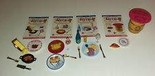 LOT of Re-Ment Miniatures French Food Rilakkuma Bonjour Bistro Sets