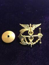 1940's Public Heath Officer Hat Pin Device Screw Back B. Pasquale SF