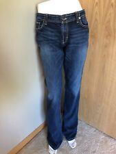 BKE Denim Wendi Stretch Jeans Women's Size 30X35.5 Button Flap Pockets Bootcut