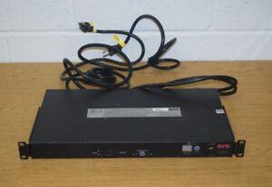 APC AP7750A Automatic Transfer Switch 10 Outlet 120V 12A 50/60Hz 12 Amp