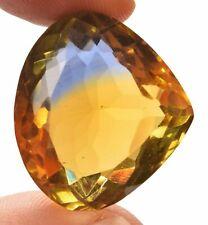 57.20 Cts. Natural Ametrine Blue & Yellow Pear Cut Certified Gemstone