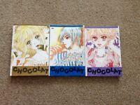 Chocolat Manga Books 1-3 story and art by Shin JiSang and Geo