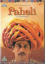 PAHELI - SHAHRUKH KHAN - RANI MUKHERJI - NEW BOLLYWOOD DVD - FREE UK POST