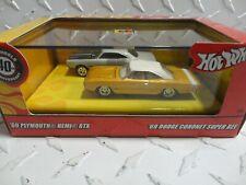 Hot Wheels Mopar Muscle 100% Red Box (2) Car Set