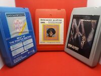 8 Track Tapes Vintage Bundle! Dionne Warwick, Herb Alpert, & The Pointer Sisters