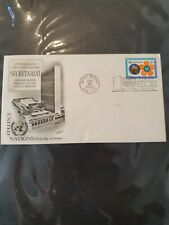 More details for united nations secretariat 1968 new york first day issue cover