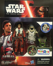 "STAR WARS-THE FORCE AWAKENS 3.75""FIGURE Poe Dameron TOYS-R-US EXCLUSIVE [LAST 1]"
