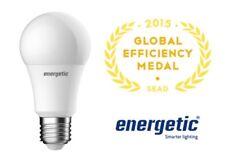 Energetic 9.5W Non-Dimmable Warm White E27 LED Globe 3year warranty Australian
