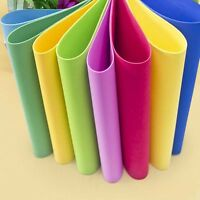 10X Assorted Colours EVA Fun Foam Paper A4 Sheets for Kids DIY Hand Crafts Art P