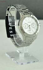 FREE Ship USA Chic Ladies Watch GUESS Silver Stainless Steel Women Lovely