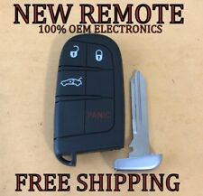 NEW 11-18 DODGE CHARGER CHALLENGER CHRYSLER 300 SMART KEY PROXIMITY REMOTE FOB
