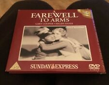 A FAREWELL TO ARMS DVD GARY COOPER HELEN HAYES WW1 Classic Movie