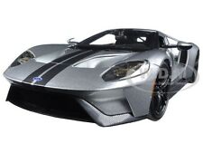 2017 FORD GT SILVER 1/18 DIECAST CAR MODEL BY MAISTO 31384