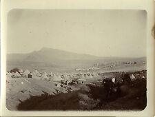 PHOTO ANCIENNE - VINTAGE SNAPSHOT - TAOURIRT MAROC CAMP VILLAGE 1911