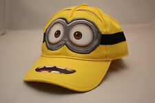 BOY GIRL DESPICABLE ME 2 MINION DAVE KID CHILD ADJUSTABLE BASEBALL HAT CAP NWT