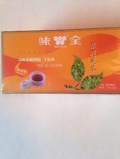 100% NATURAL JASMINE TEA-  THE DU JASMIN - 25 TEA BAGS DECORATIVE BOX WEI-CHUAN
