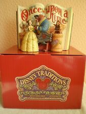 Disney Traditions 'Storybook' : Jim Shore : Enesco : Beauty and The Beast