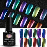 7ml Chameleon Nail Art UV LED Gel Soak Off Chrome Polish Varnish Meet Across 6#