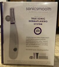 Sonicsmooth Michael Todd Beauty Dermaplaning & Exfoliation System SEALED NIB